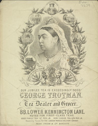Advert For George Trotman, Tea Dealer & Grocer 7279